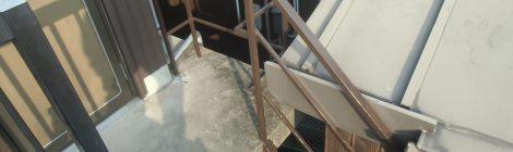 T邸 屋根補修 階段塗装